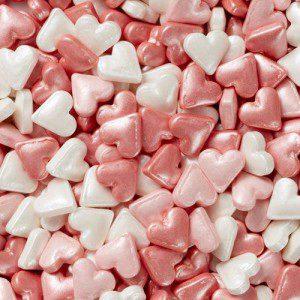 Wilton Jumbo Sprinkles -Heart