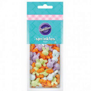 Wilton Sprinkles Bunnies & Carrots 56g