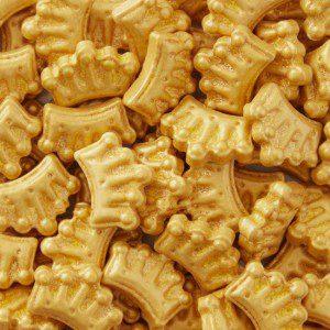 Wilton Sprinkles -Gold Crown-