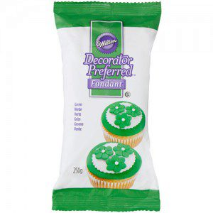 Wilton Decorator Preferred Fondant Green -250g-