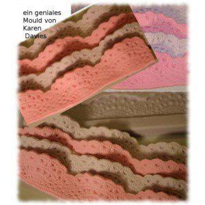 KD Siliconen Mould - Lottie Vintage lace