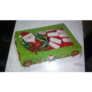 Wilton Cookie Boxes /Weihnachtsmotiv