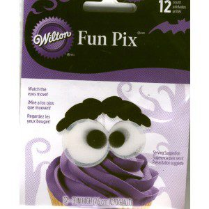 Wilton Eyeballs & Eyebrows Fun Pix