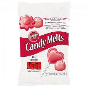 Wilton Candy Melts® Rot 340g