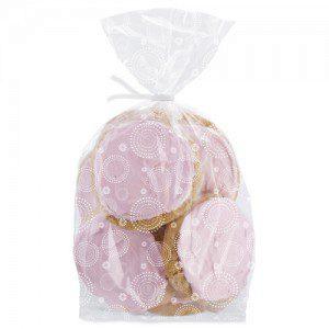 Wilton Party Bags mit zartem weißen Muster