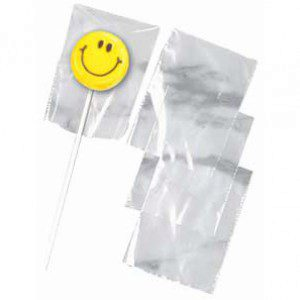 Wilton Lollipop Bags - Sackerl in klar