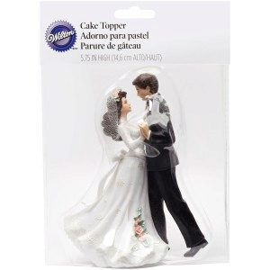 Wilton First Dance with Black Tux Figurine, Hochzeitspaar