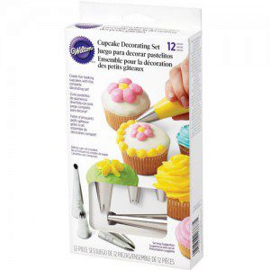Wilton Cupcake Decorating Set, 12teilig