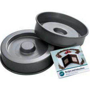Fancy-Fill Cake Pan Set, 2-teilig