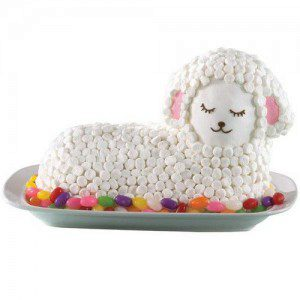 Wilton Stand-Up Lamb Pan, Lamm-Backform