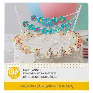Wilton Cake Banner Happy Birthday