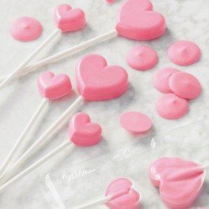 Wilton Lollipop Mold Mini Hearts