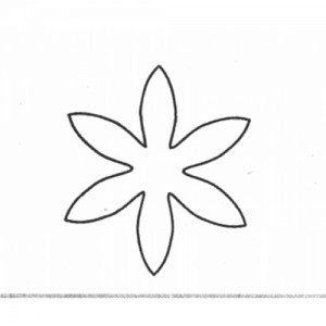 Fine Cut - Daisy, Blüte - 32 mm