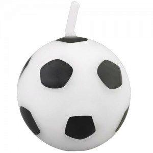 Wilton Candle Soccer Ball pk/6 - Kerze