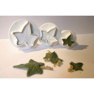 PME Ivy leaf Plunger cutter, 3-teilig
