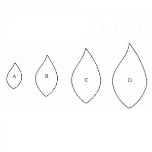 Fine Cut - leaf / Blatt (geschwungen)