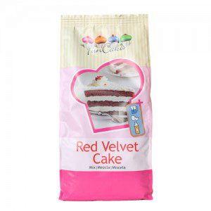 Red Velvet Cake - Backmischung, 1 kg