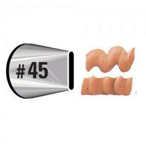 Tülle, Icing Tubes, Nummer 45
