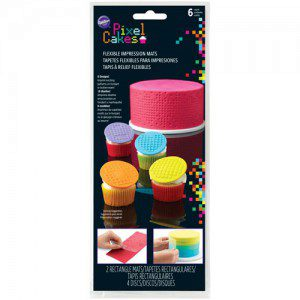 Wilton Flexible Impression Mat Pixel