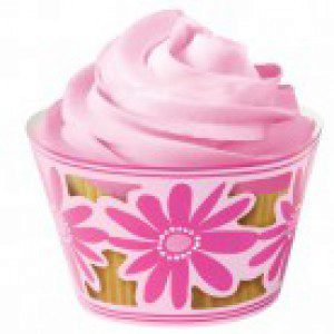 Wilton CupCakes Wraps in pink
