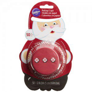 Backförmchen - Wilton Baking Cups Santa