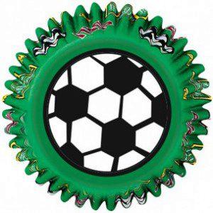 Wilton Backförmchen - Fußballmotive