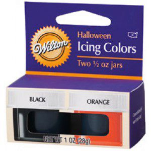 Wilton Color Kit - Halloween - orange und schwarz