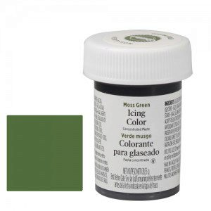 Wilton Icing Colors   -   moss green