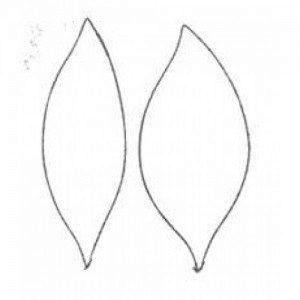 Fine Cut - stargazer lily, 2-teilig