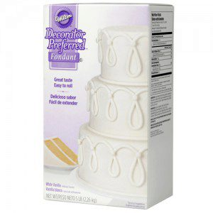 Wilton Decorator Preferred Fondant White -2,2 kg-