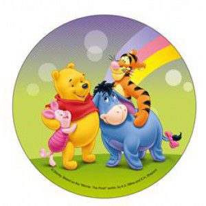 Disney Wafer Sheet - Winnie Puuh und seine Freunde
