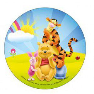 Disney Wafer Sheet - Winnie Puuh, Tigger und Ferkel