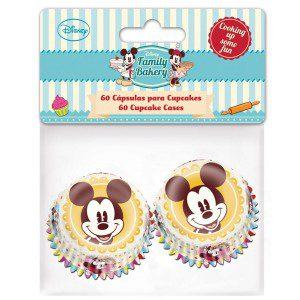 Stor Mini Baking Cups Mickey pkg/60