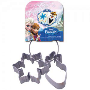 Stor metallene Kekse Ausstecher Frozen set/2