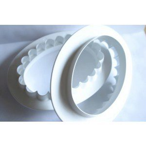 PME Ovale Platte oder Tafel / Plaque