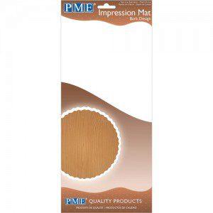 PME Impression Mat Bark, Strukturmatte Holz
