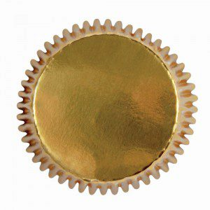 PME Mini Baking cups Gold pk/45