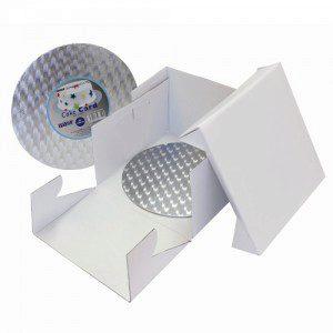 PME Cake Box & Round Cake Card 25 x 25 x 15cm
