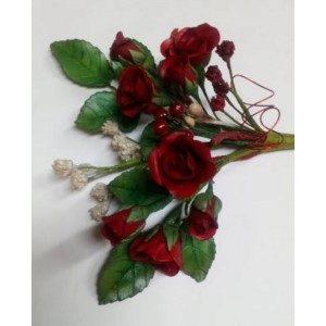 Zuckerblumengesteck - kleine Röschen