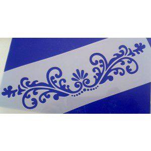 Stencil / Schablone Ornament