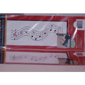 DesignerStencils - Musical Notes