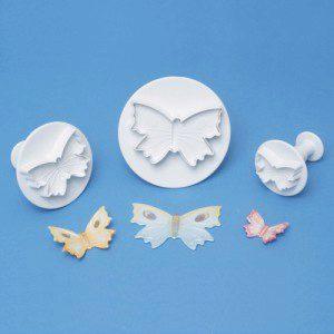 PME Butterfly/Schmetterling,  Plunger, 3-er Set