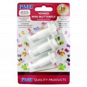 PME Butterfly Plunger Cutter Mini set/3
