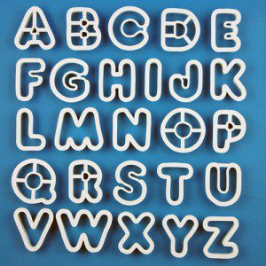 PME Alphabet Set