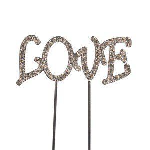 CakeStar Cake Topper Diamante Love