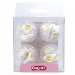 Culpitt Zuckerpaste Mini Calla-Lilie Pack/12
