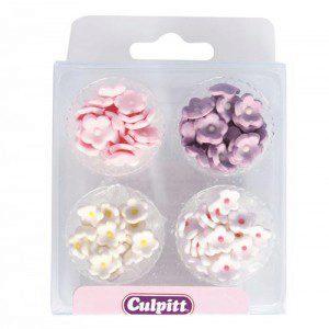 Culpitt Zuckerdekoration Miniblumen Sortiment 100/Pkg