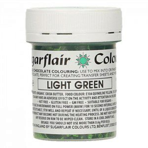 SU Chocolate Colour Light Green 35g