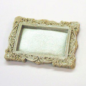 KatySue Mould Miniature Frames - Vintage Rectangle