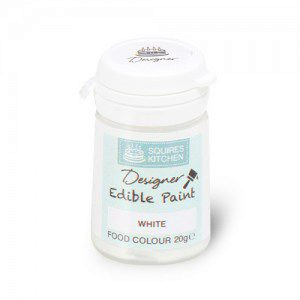 SK Designer Edible Food Paint White -20g-
